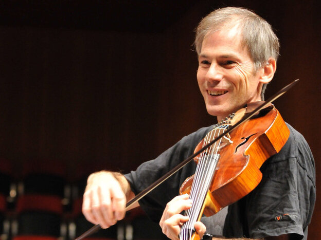 On Garth Knox's new album, Saltarello, the adventurous violist creates surprising musical juxtapositions.
