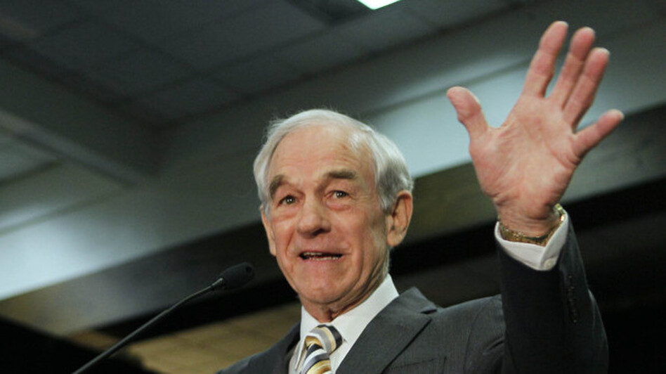 Republican presidential candidate Rep. Ron Paul, R-Texas, in February. (AP)