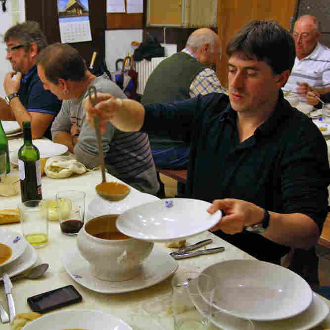 At Basque Cooking Clubs, Food And Fraternity Mix Heartily