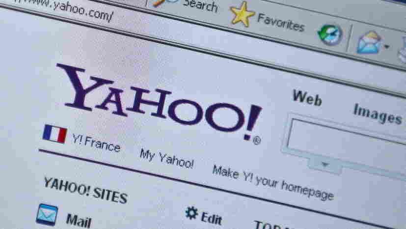 Yahoo's homepage.