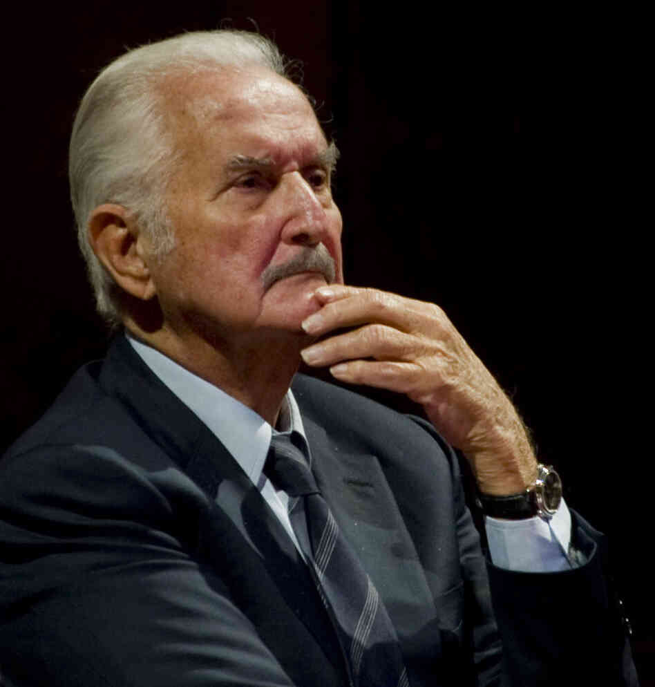 Mexican writer Carlos Fuentes takes part in a tribute to Mexican writer and anthropologist Fernando Benitez in December 2011.