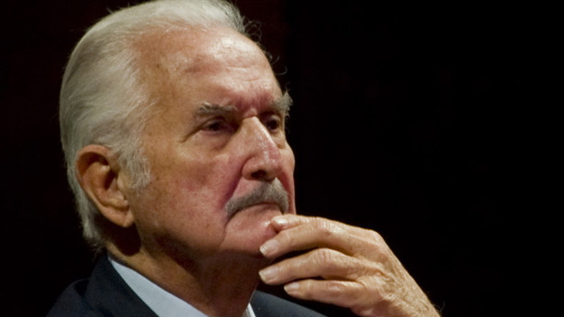 Mexican writer Carlos Fuentes takes part in a tribute to Mexican writer and anthropologist Fernando Benitez in December 2011. (AFP/Getty Images)