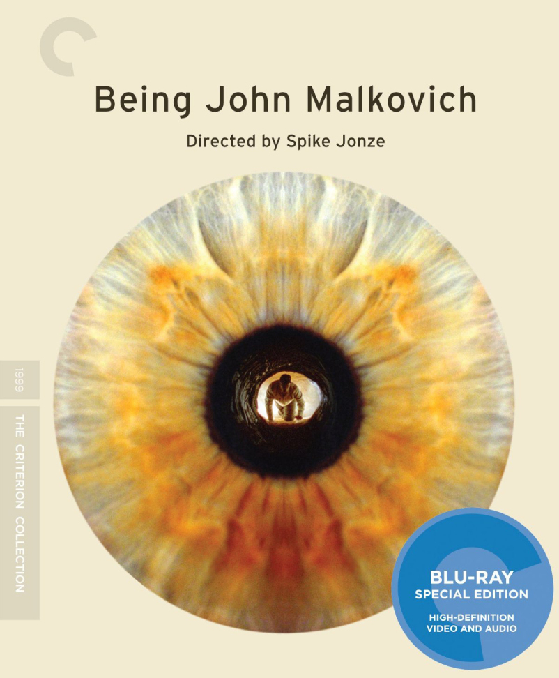 The Criterion Collection Blu-ray release of Being John Malkovich.