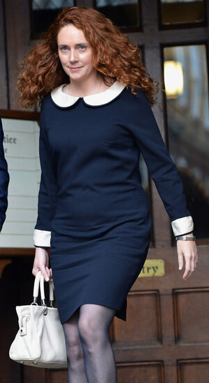 Rebekah Brooks, last Friday in London.