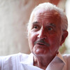 Mexican write Carlos Fuentes at the Hay Festival Cartagena in January.