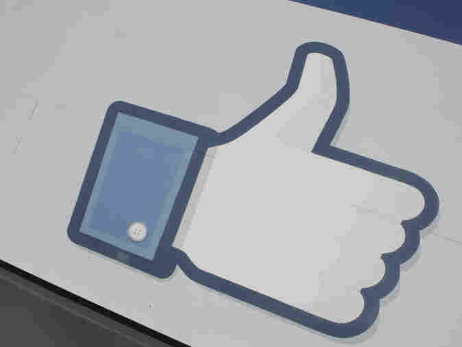 The Facebook thumb.