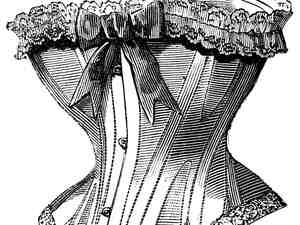 Historical fiction fits in a bustier.
