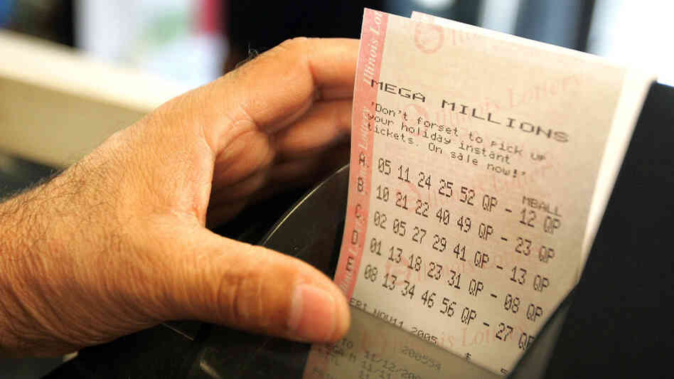 Mega Millions tickets.