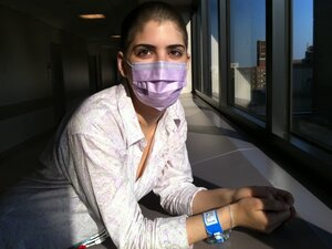 On the day before Suleika Jaouad's first chemotherapy treatment in June 2011,