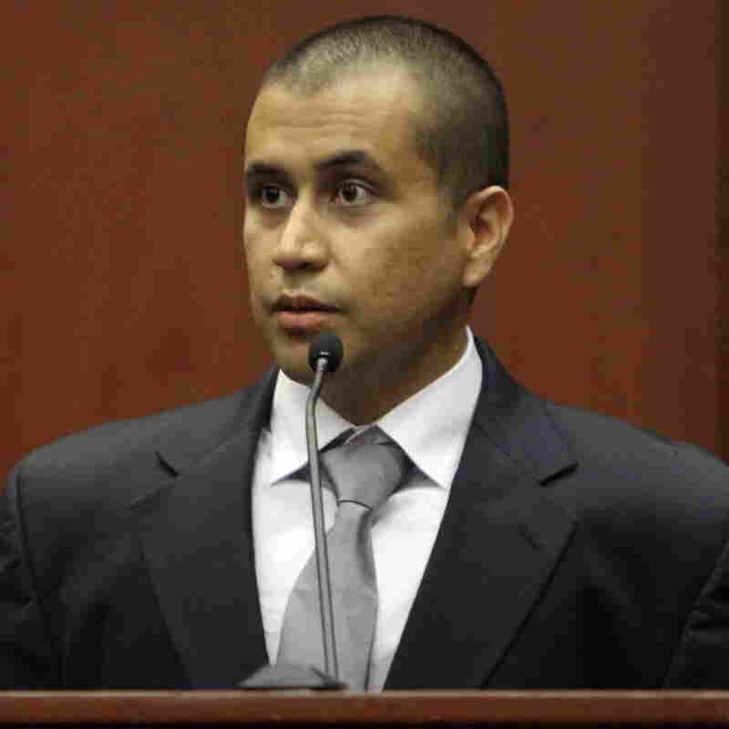 George Zimmerman during a court appearance on April 20.