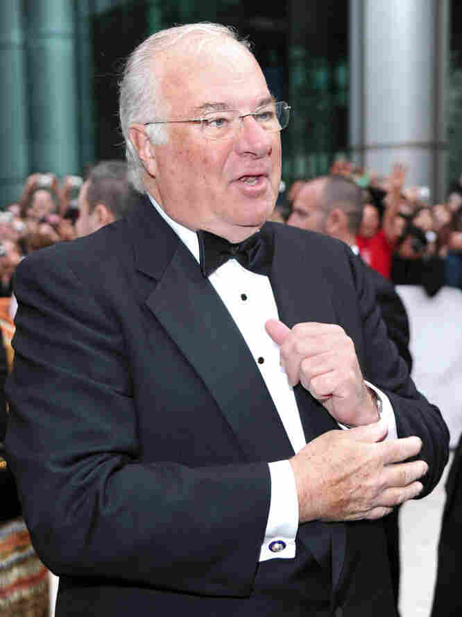 Joe Ricketts, whose American Film Company produced The Conspirator, arrives at the film's premiere during the Toronto International Film Festival in 2010.