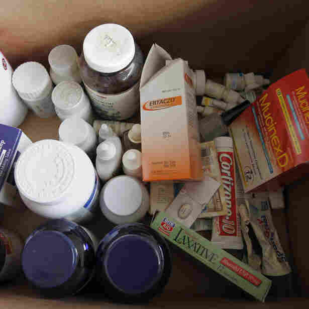 Trash Can May Be Greenest Option For Unused Drugs