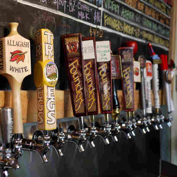 U.S. Craft Beer Brewers Thrive, Despite Small Share Of The Market