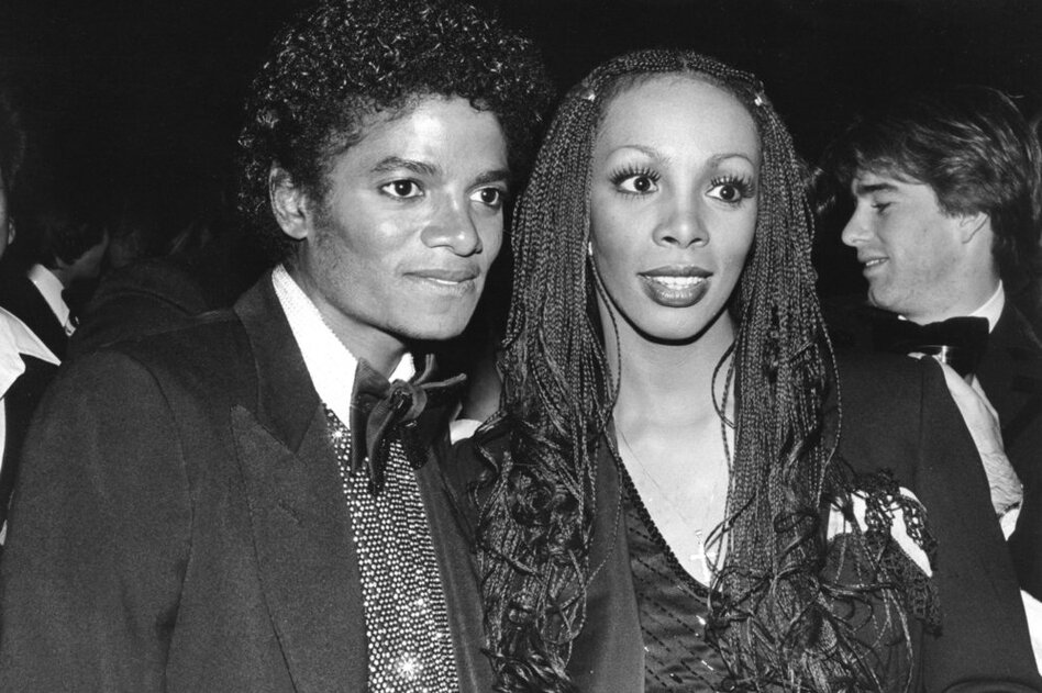 Summer's exuberant dance music and style influenced other pop stars like Michael Jackson (pictured here in 1982), Whitney Houston and Beyonce.  (Getty Images)