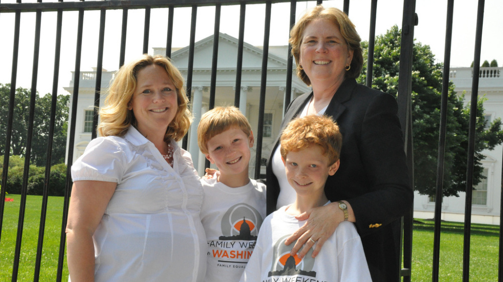 Parents As Equal Participants In Team >> Same Sex Parents Lobby Congress For Equal Rights Npr
