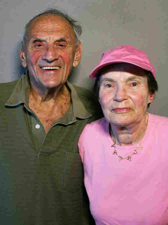 Van Harris and his wife, Shirley, visited StoryCorps in New York. The couple performed together at resorts in the Catskill Mountains for nearly 40 years.
