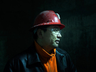 "Tseren-ochir is a superintendent at Oyu Tolgoi mine who goes by the name ""Augie"" because it's easier for the foreigners he works with to pronounce. He is overseeing workers digging a nearly 5,000-foot-deep shaft down to reach the copper ore."