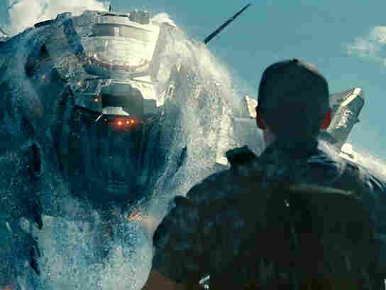A scene from Battleship, which opens this weekend in the U.S. Thanks to earlier releases abroad, the film has already grossed $215 million worldwide.