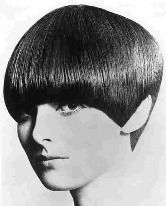 Grace Coddington models the bob.
