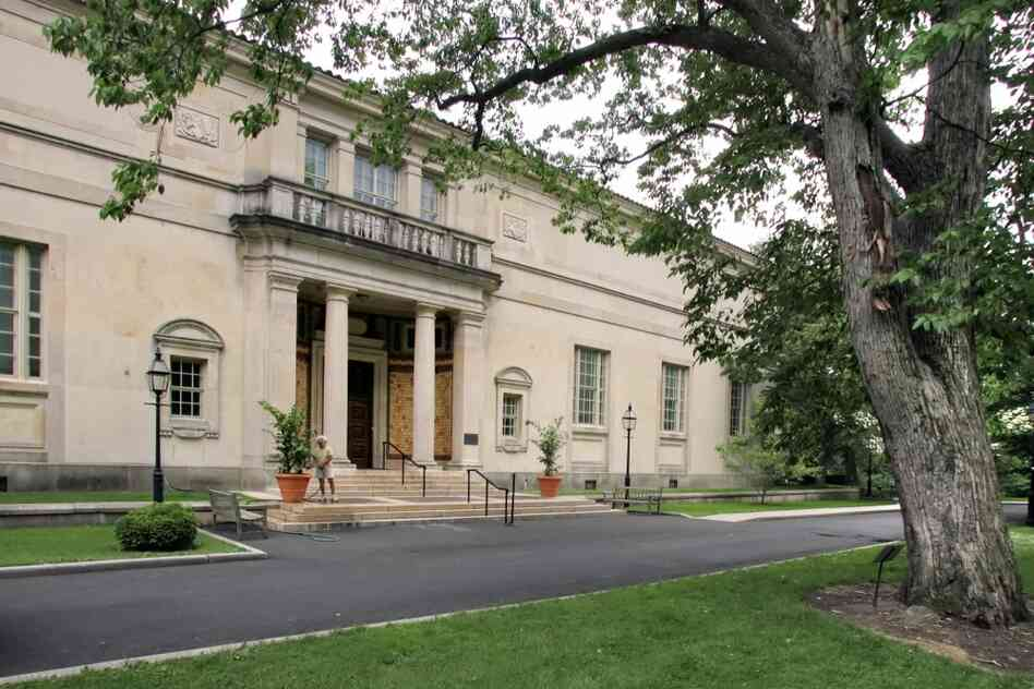 Albert Barnes built this gallery for his art collection in Merion, Pa., a Philadelphia suburb, in 1922. He wanted his institution to be a school for art appreciation, not an ordinary museum.