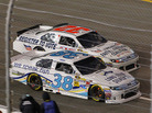 "The Faith and Freedom Coalition has gone as far as sponsoring a race car with ""Register to Vote"" emblazoned on the side. Reed Sorenson drove the No. 32 car during a NASCAR Sprint Cup Series race at Richmond International Raceway on April 28 in Virginia."