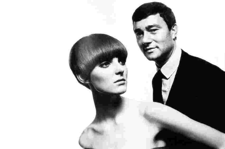 Sassoon has created some of the most iconic hairstyles of the 20th century, and his angular bob came to define 1960s fashion. It is shown here on Welsh model and Vogue journalist Grace Coddington as she poses with Sassoon.