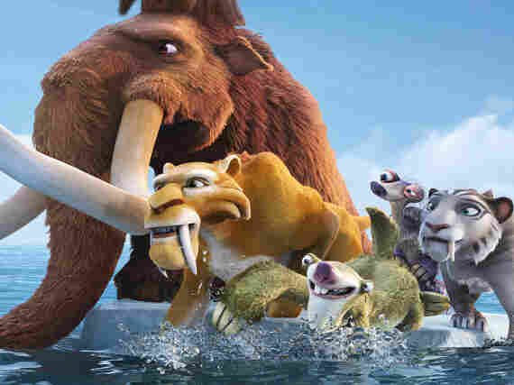 Prehistoric creatures Manny, Diego, Sid and friends return in Ice Age: Continental Drift in theaters July 13 in America, but internationally as soon as June 27 (in France).