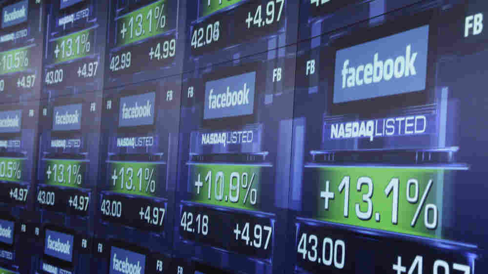 Facebook shares began trading on Nasdaq shortly after 11:30 a.m. on Friday.