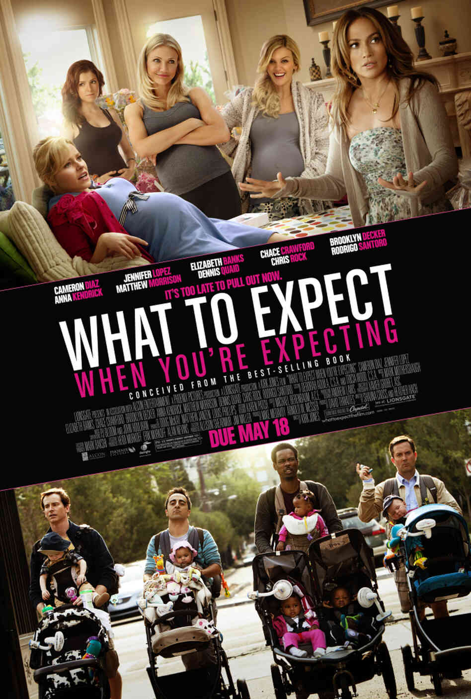 The poster for What to Expect When You're Expecting.