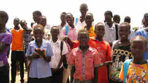 Students like those of Good Hope Basic Primary School in South Sudan are still catching up nearly a year after independence from Sudan.