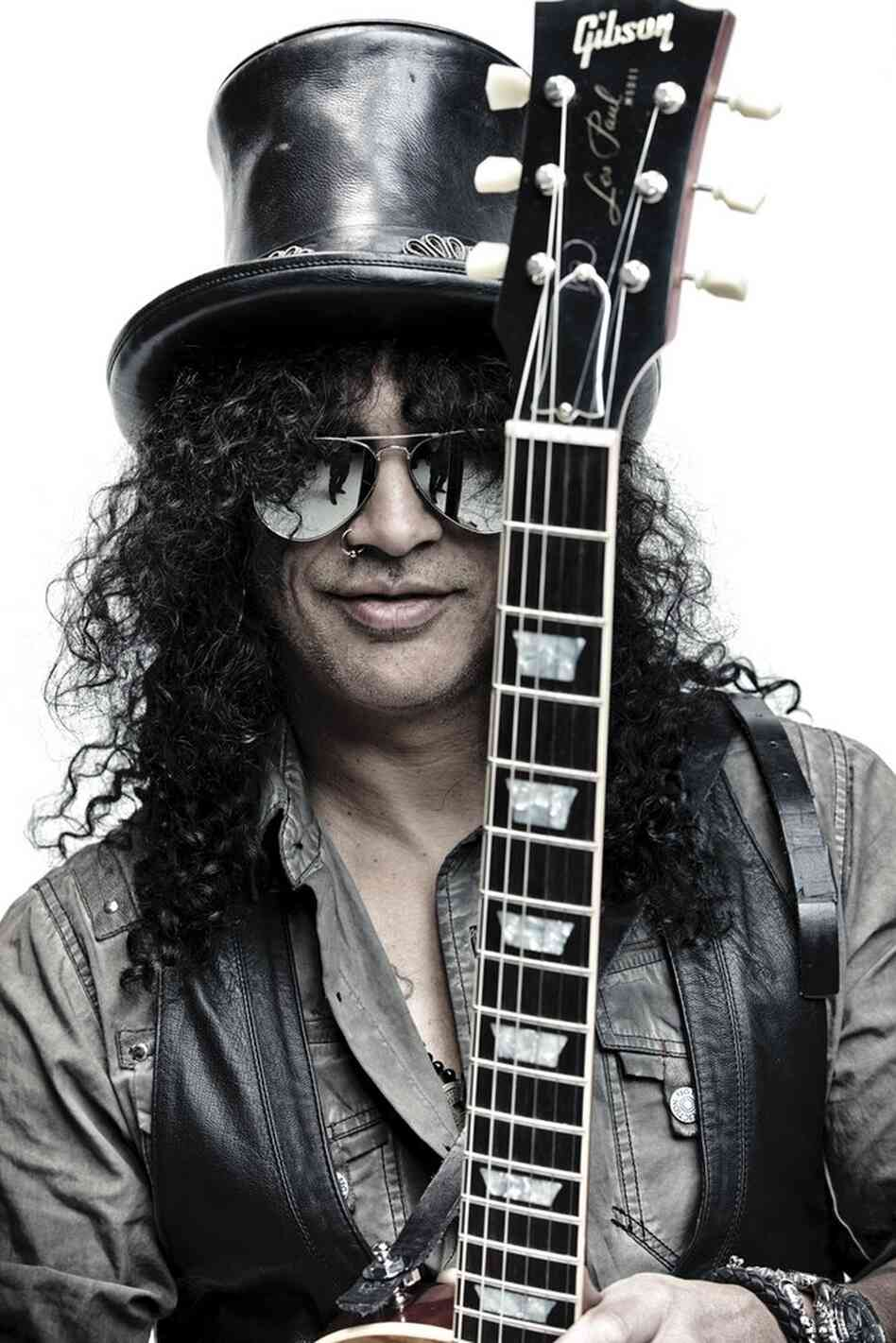 Slash, the former lead guitarist for Guns N' Roses, has a new album out.