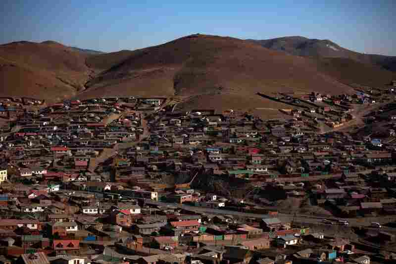 So-called ger villages — actually a mix of yurts and more permanent shelters — spread out onto the hills surrounding Ulan Bator. Some plots are legally purchased; others are occupied by squatters. Most residents have left lives as herders to look for jobs in Mongolia's capital. One-third of Mongolia's population lives in Ulan Bator.