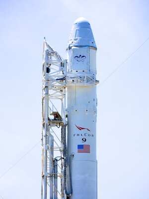 SpaceX rocket Falcon 9 at Cape Canaveral in Florida was scheduled to launch Saturda