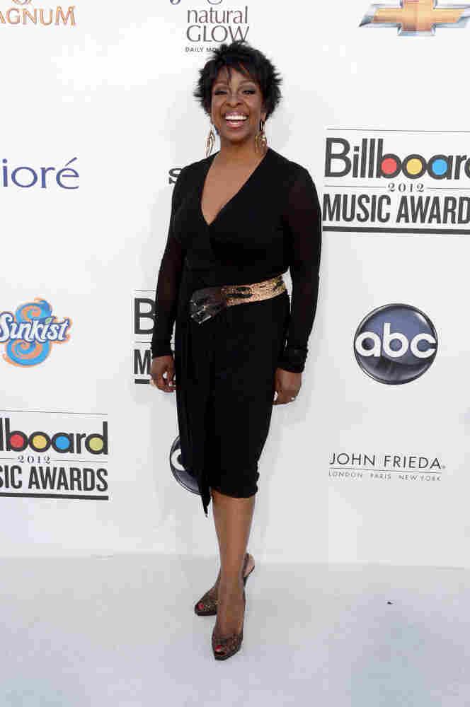 Singer Gladys Knight arrives at the 2012 Billboard Music Awards held Sunday night.