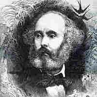 A portrait of French composer Félicien-César David (from 1876), celebrating his famous orchestral ode Le Désert.