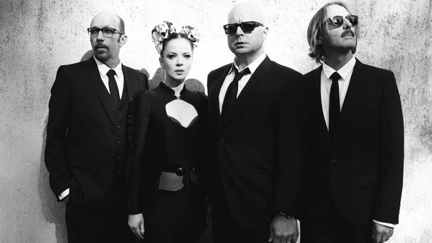 """I wanted to make loud, guitar-driven rock again,"" says Garbage lead singer Shirley Manson, on the band's reunion. (Courtesy of the artist)"