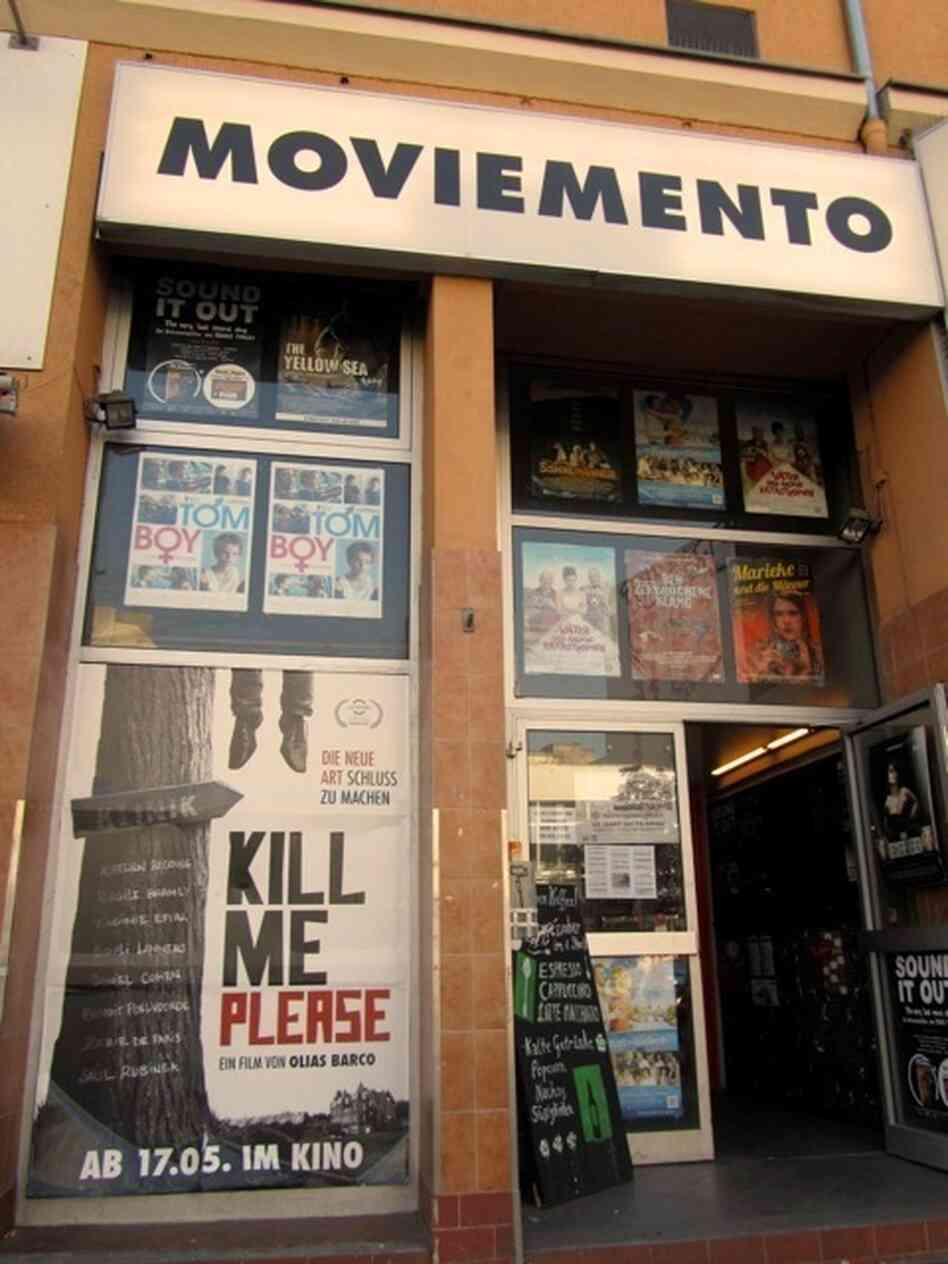 Moviemento Kino on Kottbusser Damm screened We Want (u) to Know.