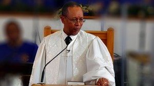 The Rev. Dennis Wiley of Covenant Baptist United Church of Christ in Maryland is a prominent advocate of gay marriage.