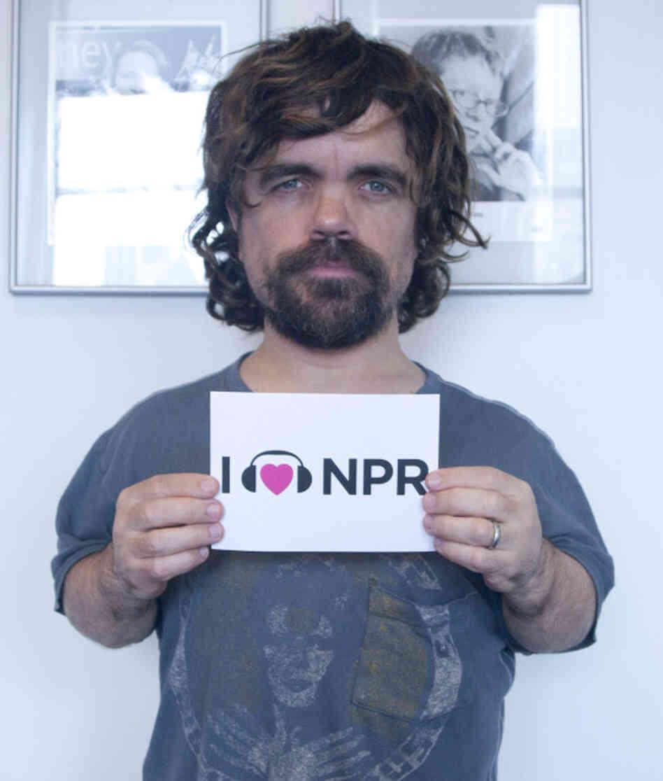 Peter Dinklage: Peter Dinklage Loves NPR : This Is NPR : NPR