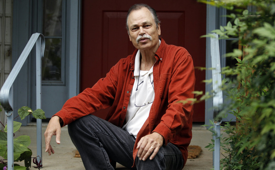 Terry Dyroff, at home in Silver Spring, Md., got a PSA blood test that led to a prostate biopsy. The biopsy found no cancer, but it gave him a life-threatening infection. (Jose Luis Magana/AP)