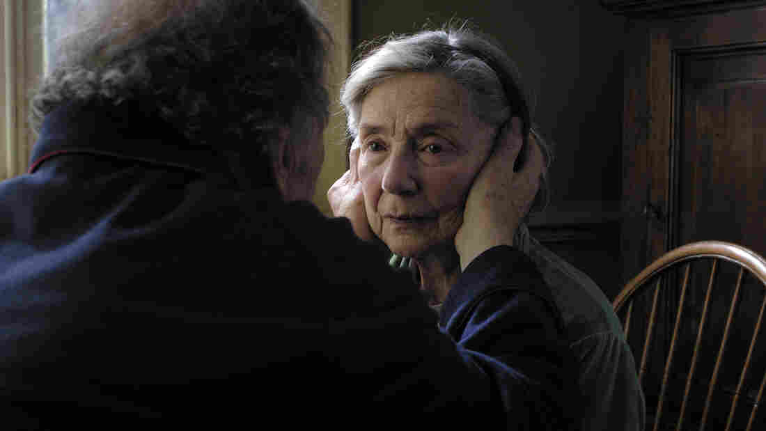 Emmanuelle Riva in Amour, a Cannes Film Festival favorite from director Michael Haneke.