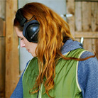 Neko Case in the studio in 2009.