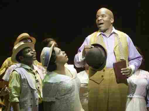 In Porgy and Bess, David Alan Grier plays the drug dealer Sporting Life, a role closely associated with Sammy Davis Jr. and Cab Calloway.