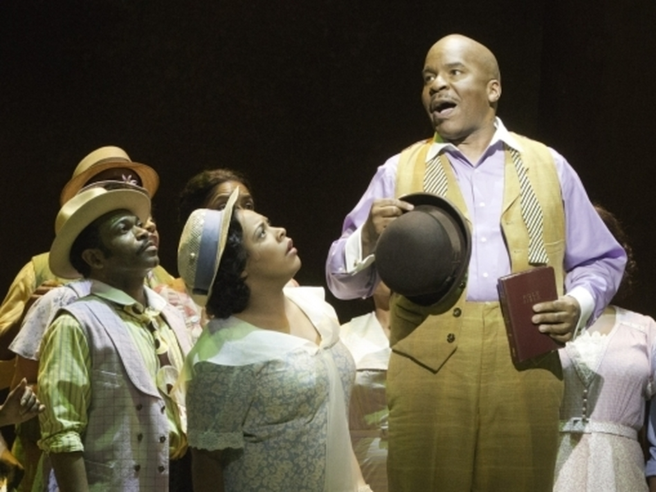 In <em>Porgy and Bess</em>, David Alan Grier plays the drug dealer Sporting Life, a role closely associated with Sammy Davis Jr. and Cab Calloway.