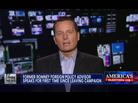 Richard Grenell, Mitt Romney's former adviser, speaks with Fox News on Wednesday.