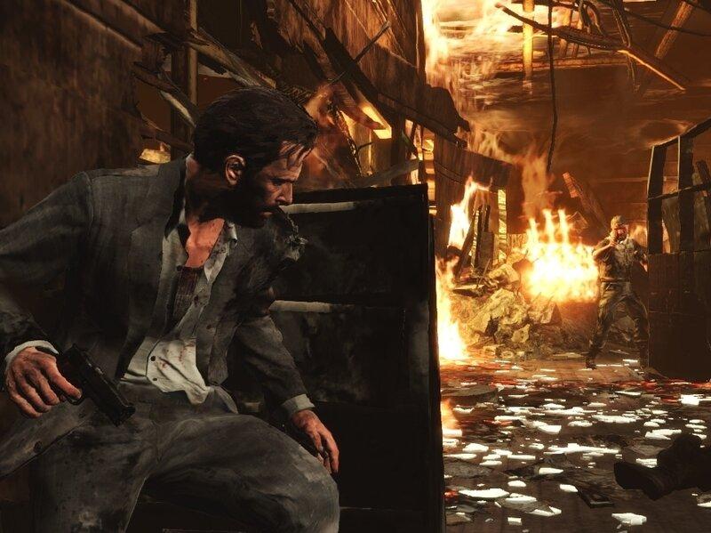 A Screenshot From Max Payne 3