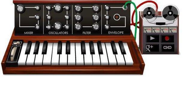 Google's Moog Doodle.