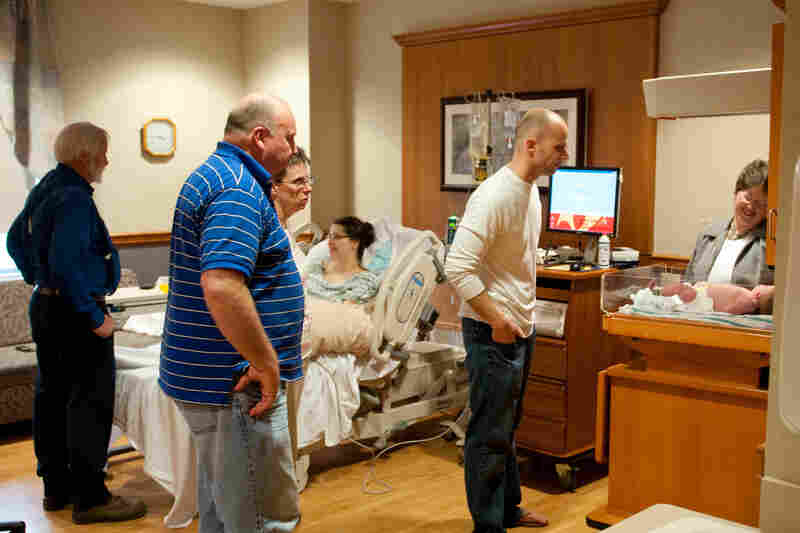 Family and friends are welcome at the hospital anytime, day or night, and each of the 97 patient rooms is designed as a single-occupancy room with a bed for caregivers to spend the night.