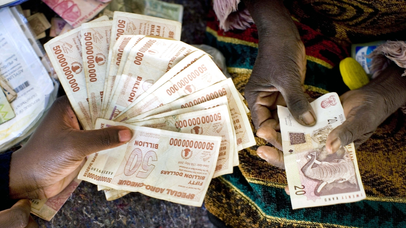 How Crumbling U S Dollars Bailed Out Zimbabwe