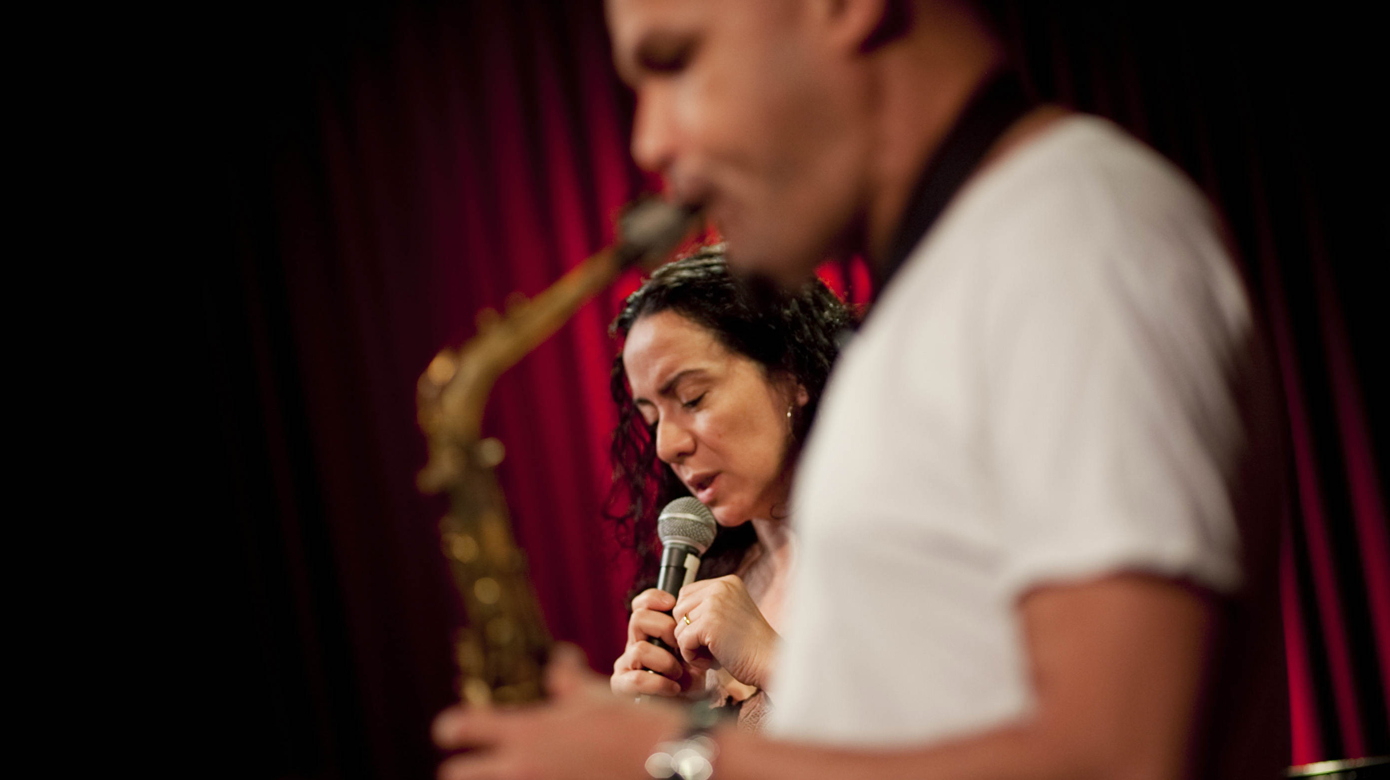 Claudia Acuna sings the poetic words of Federico Garcia Lorca as Miguel Zenon plays alto sax.